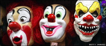 Why are clowns scary?
