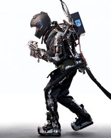 Real 'Iron-man-like exoskeleton suit